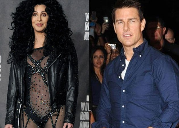 Tom Cruise in Cher's top five lovers list