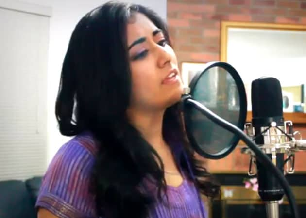 Jonita Gandhi: Lucky my first Bollywood song for Shah Rukh Khan-starrer