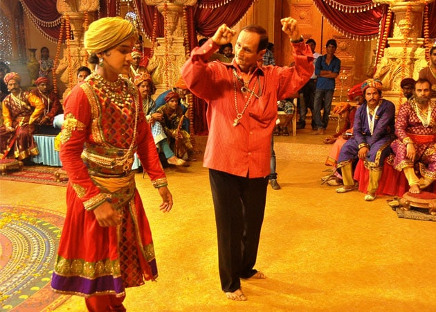 Faisal Khan shoots classical dance sequence for Maharana Pratap