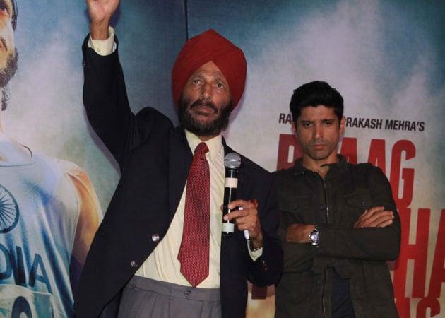 When Farhan Akhtar gave the sobbing Milkha Singh his handkerchief