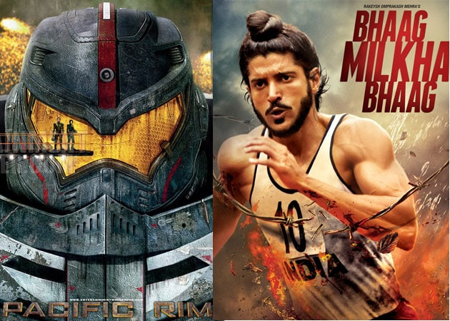 Today's big releases: Bhaag Milkha Bhaag and Pacific Rim