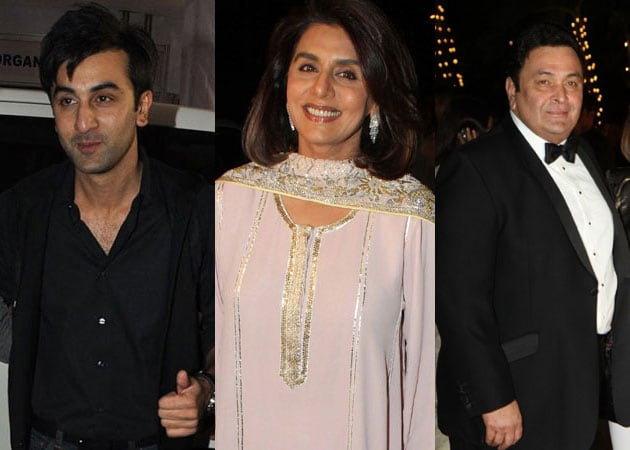 Ranbir Kapoor's parents miffed over his holiday pictures with Katrina Kaif?