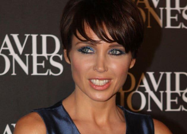 Dannii Minogue wears Indian designer's creation for album cover