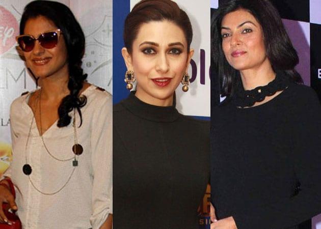 Ad-vantage Kajol, Karisma Kapur, Sushmita Sen, Raveena Tandon