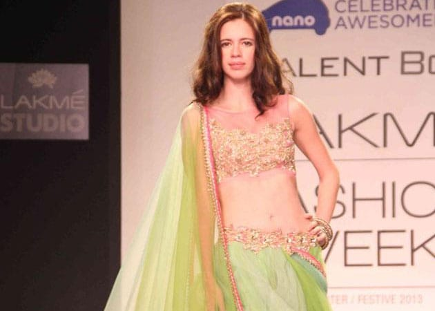 Kalki Koechlin's wedding inspires designer's collection at Lakme Fashion Week