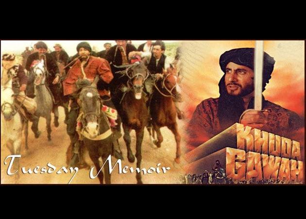 Amitabh Bachchan on shooting Khuda Gawah in Afghanistan