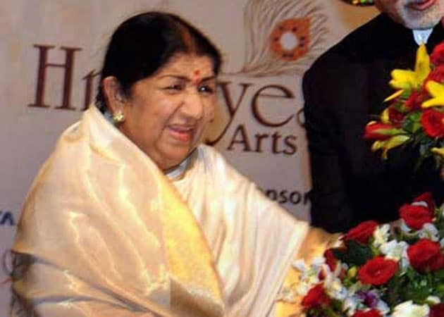 Lata Mangeshkar is