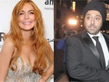 Lindsay Lohan shops with Vikram Chatwal in New York