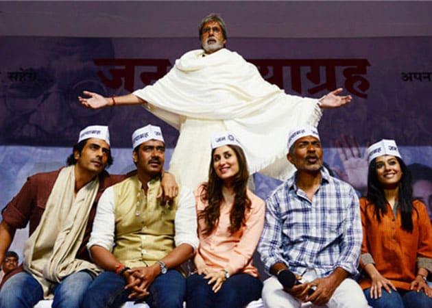 Today's big release: Amitabh Bachchan's Satyagraha
