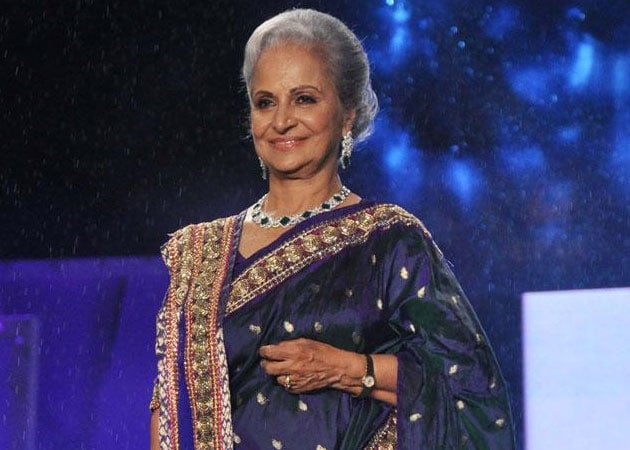 Waheeda Rehman: People losing their senses, values