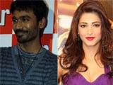 Dhanush, Shruti Haasan win top laurels at SIIMA awards