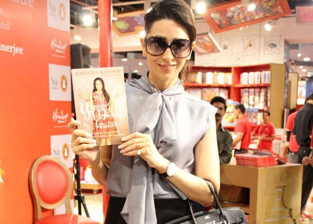 Karisma Kapoor launches pregnancy book on yummy mummies