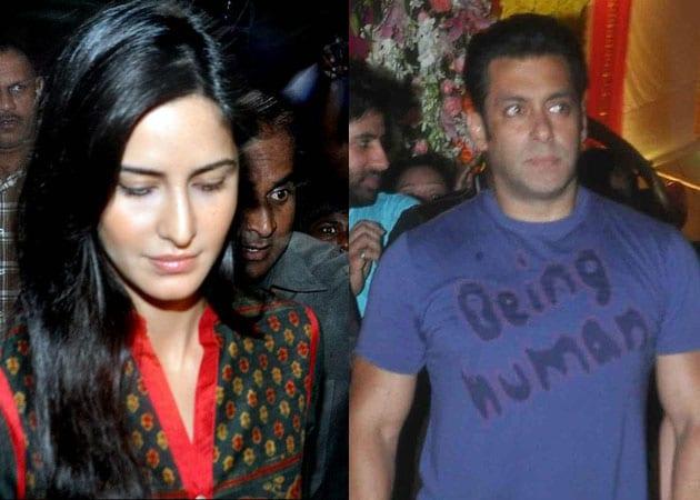 Katrina Kaif joins Salman Khan for Ganpati visarjan