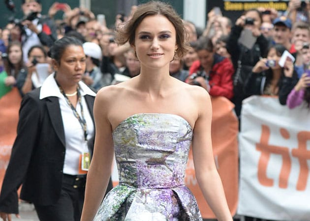 Keira Knightley was terrified about onscreen singing