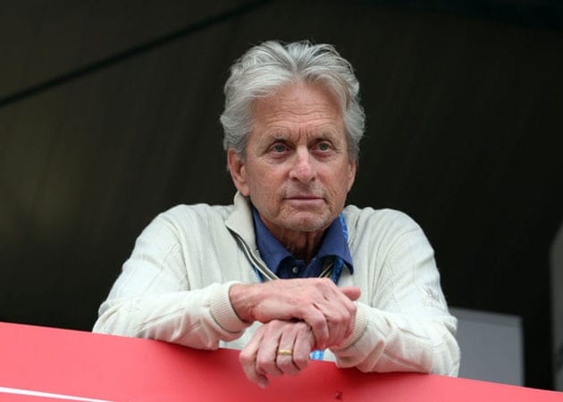 Michael Douglas denies marriage crisis