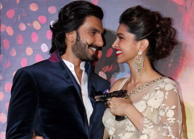 Ranveer Singh, Deepika Padukone unveil Ramleela trailer