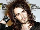 Russell Brand laughs off transsexual fling rumours