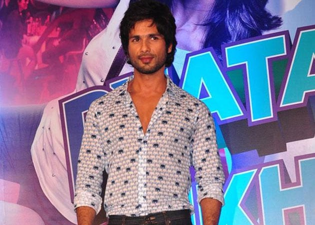 Shahid Kapoor: An actor should do films for the audience
