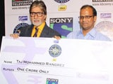 <I>Kaun Banega Crorepati</I> season 7 gets its first <I>crorepati</i>