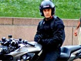 Aamir isn't just acting in <I>Dhoom: 3</i>. No surprise!