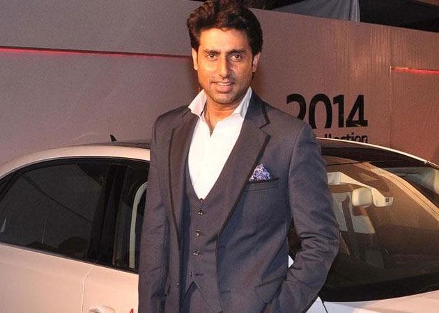 Abhishek Bachchan borrows a line from father Amitabh's film