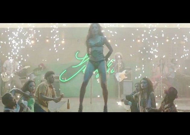Freida Pinto stars as a stripper in racy music video