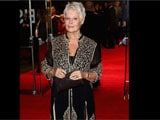 Judi Dench wears another Abu-Sandeep creation