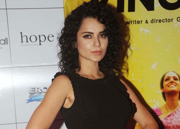 Kangana Ranaut's dream to play 'supergirl' comes true
