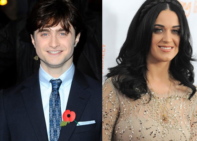 Katy Perry wants to be friends with Daniel Radcliffe