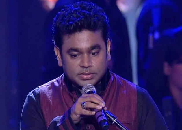A R Rahman's fervid numbers mesmerise Kolkata