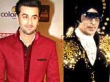 Ranbir Kapoor boogies Amitabh Bachchan style