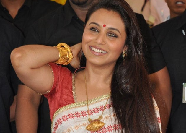 Rani Mukherji: Don't like to talk about Yash Chopra in past tense