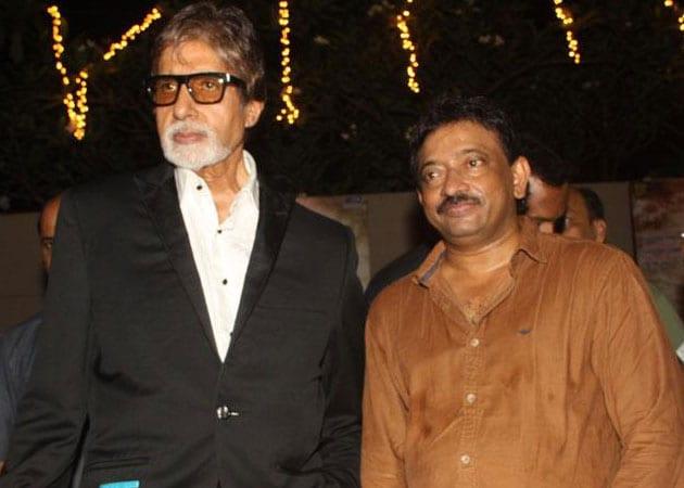 Amitabh Bachchan: Enjoy working with Ram Gopal Varma
