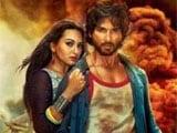 Shahid Kapoor, Sonakshi Sinha unveil <i>R...Rajkumar</i> trailer