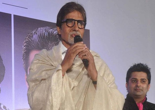 Amitabh Bachchan: I can't sing that well