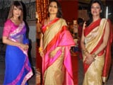 Bipasha Basu, Sushmita Sen, Rani Mukherji felicitated at Kolkata International Film Festival