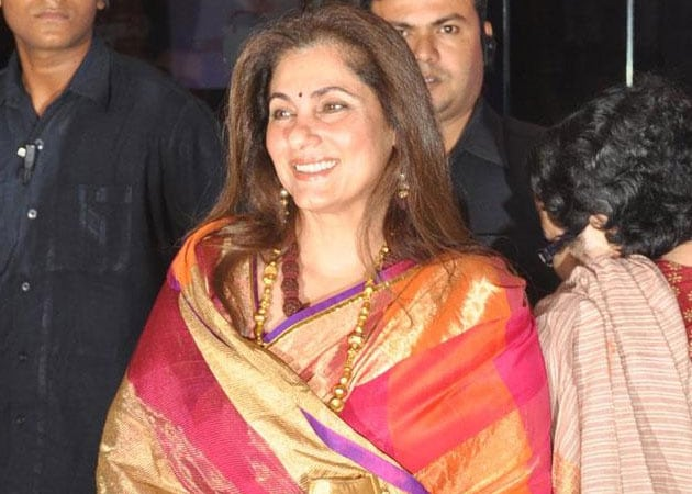 Dimple Kapadia: I hope the audiences accept me in a comic role