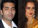 Karan Johar keen to have <i>Koffee</i> with Rekha