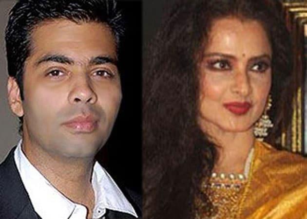 Karan Johar keen to have Koffee with Rekha