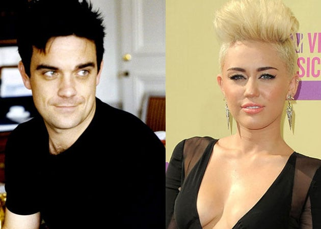 Robbie Williams fears Miley Cyrus may end up in rehab
