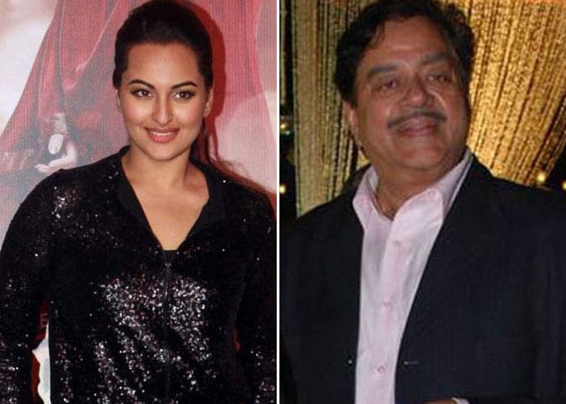 Sonakshi Sinha hopes R...Rajkumar will be birthday gift for father