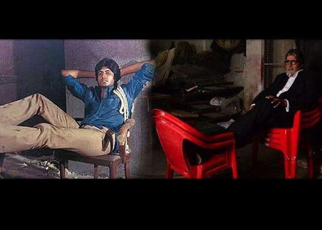 Ad shoot makes Amitabh Bachchan nostalgic