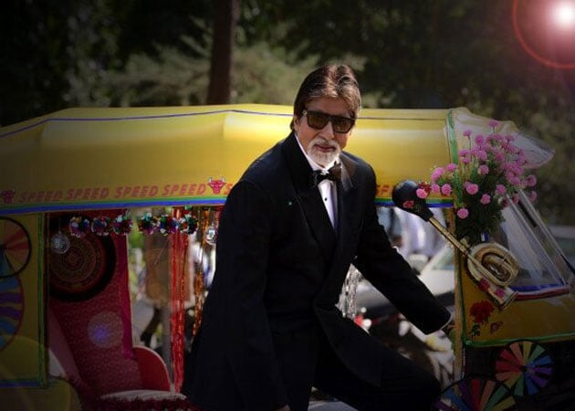 Meet Amitabh Bachchan, the autorickshaw driver
