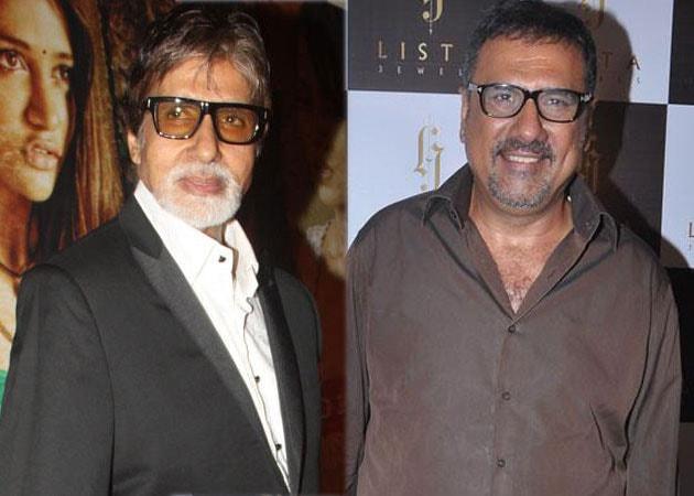 Amitabh Bachchan: Always a joy working with Boman Irani