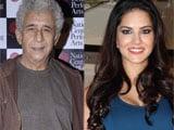Naseeruddin Shah's rapport with crew impresses Sunny Leone