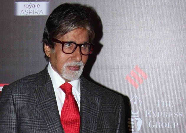 Amitabh Bachchan: Dancing in front of the camera is