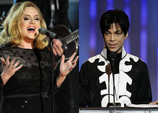 Adele, Prince to work on new song?