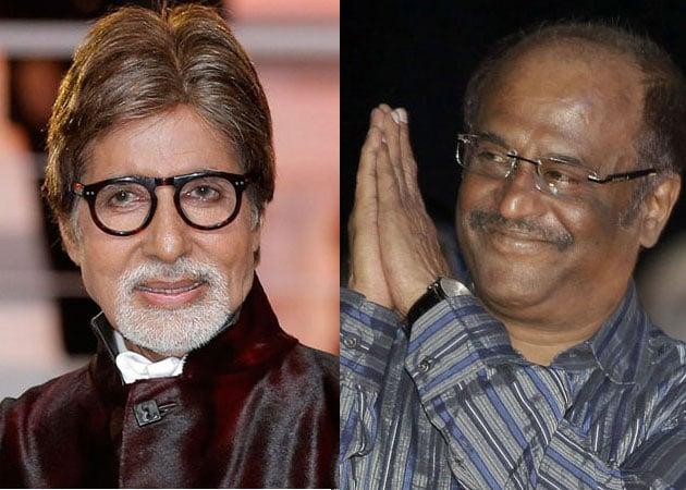 Big B, Rajini to clash on the big screen on April 11