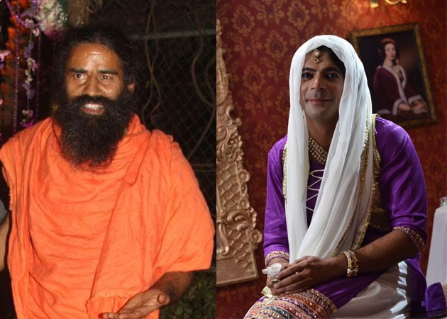 Baba Ramdev on Sunil Grover's show Mad in India