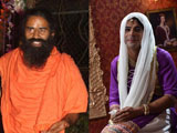 Baba Ramdev on Sunil Grover's show <i>Mad in India</i>